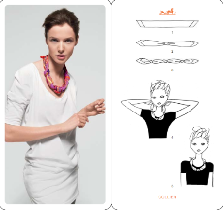Knotting, summer, scarf, how to